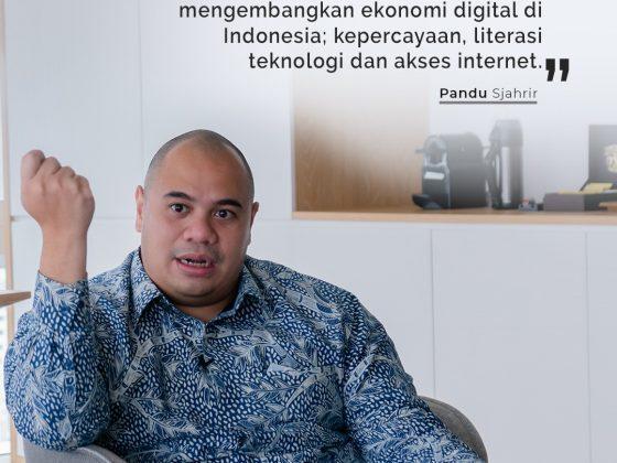Pandu Sjahrir bicara tentang peningkatan ekonomi digital