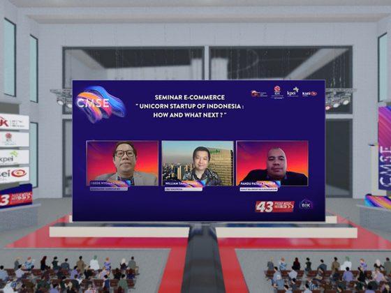 IDX Commissioner, Pandu Sjahrir at Virtual CMSE 2020