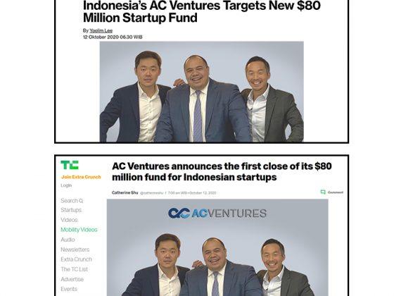 AC Ventures is targeting a LP Fund US$80 Million