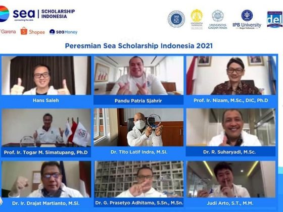 Press Conference of SEA Scholarship 2021