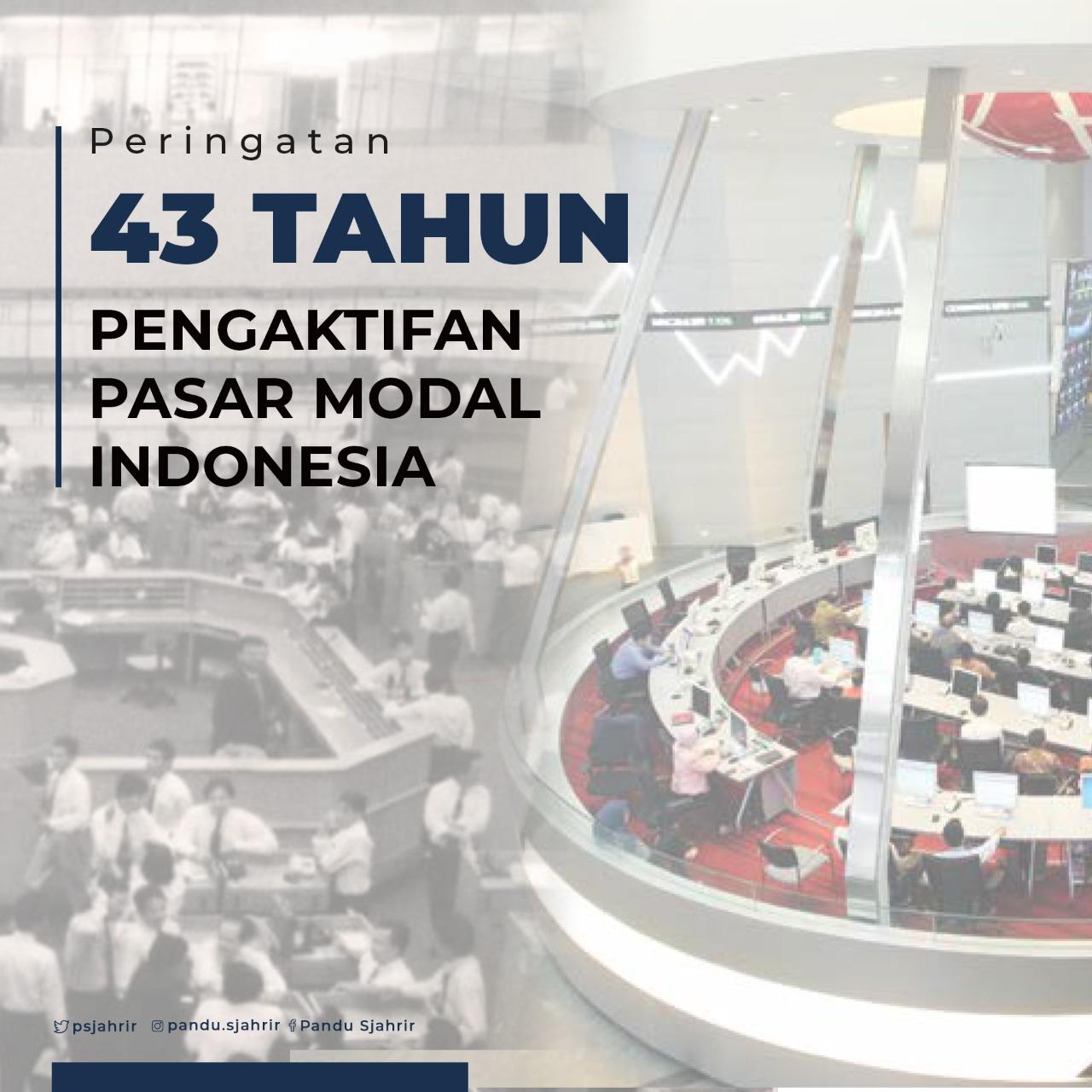 Peringatan Pengakltifan Pasar Modal indonesia