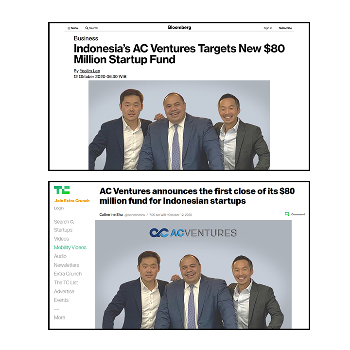 AC Ventures Targetkan Investasi Baru US$80 Juta