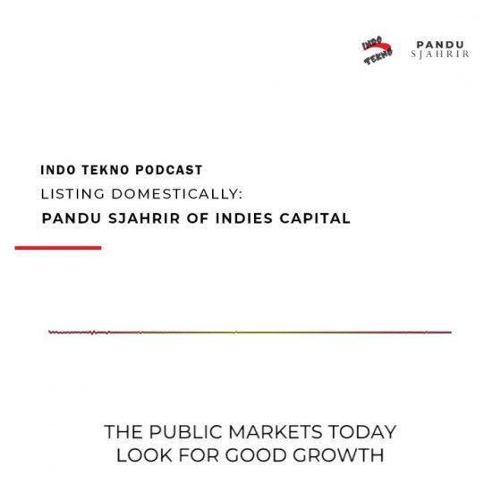 Pandu Sjahrir dalam Podcast Indo Tekno