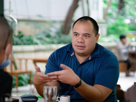Pandu Sjahrir berbicara mengenai krisis pertama generasi muda di peringatan Sumpah Pemuda