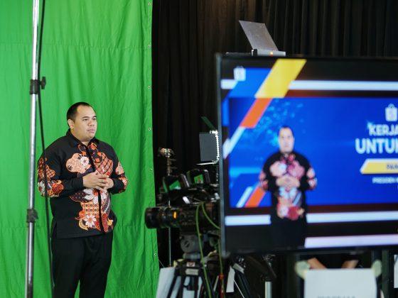 Pandu Sjahrir, Komisaris SEA Indonesia berbicara mengenai Shopee Kerja Bareng Untuk Negeri