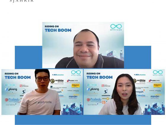 Pandu Sjahrir Berbica Mengenai Sektor Teknologi